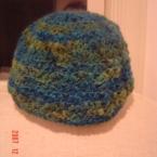 玉編みの帽子