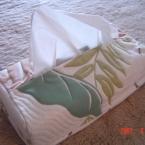 ハワイアン ティッシュボックスカバー