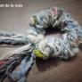 編み棒がなくても作れる!【簡単】毛糸のシュシュ