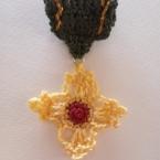 勲章のブローチ