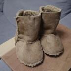 モコモコ靴