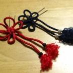 組み紐の簪:梅結び