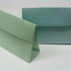 洋封筒で、マチ付きラッピング袋