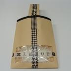窓付き封筒で手提げ型ラッピング袋