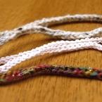 太目の紐作り・スレッドコードの編み方
