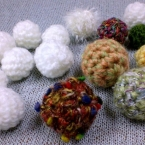 ★かぎ針編み・小さなボールの編み方★