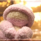 ★縫わずに作る手袋人形★