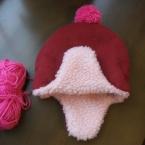 耳つき帽子