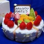 遊べるお誕生デコケーキ (クリームの作り方追加)