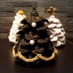 手のひらサイズのクリスマスツリー 2015