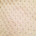 かぎ針で編む バスケット模様のブランケット