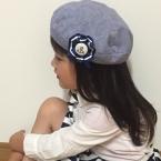 おしゃまさんの帽子(*^_^*)