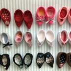 メルちゃん 中敷の可愛らしいお靴