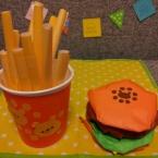 折り紙ハンバーガー
