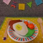 折り紙ハンバーグ