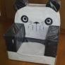 牛乳パック椅子 パンダコパンダ