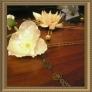 造花の花かんざし