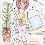 *hanako-colorのイラストポストカード*