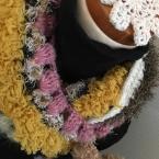 毛糸遊び*かぎ針編みのスヌード