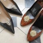 靴アクセに変身するイヤリング