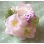 *お花と貝の小さな飾り*