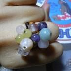 石の音が好きな方に。粒ぞろい指輪。