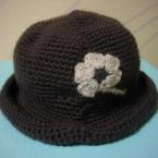 細編み帽子