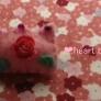 女の子っぽい❤薔薇の王冠ブローチ