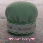 緑の☆ピンクッション