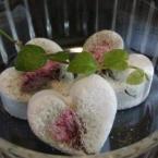 桜のバスボム