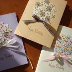お花のクラフトパンチで簡単手作りカード