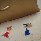 キャラクター刺繍 ♪ぐり と ぐら