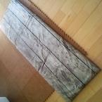 IKEAの布で低反発クッションカバー