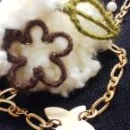 ☆針金と毛糸の簡単モチーフ☆