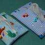 ポケットティッシュカバー(2ヶ所縫いで2枚仕立て)