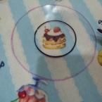くるみボタン型紙スケール(お弁当のふた)