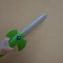 フェルトの西洋剣(こどもの布おもちゃ)