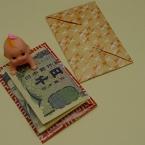 折り紙でぽち袋