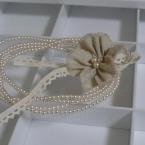 シンプルな花コサージュ