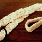 ハート模様(?)の簡単編みカチューム