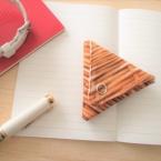 布で作る!型紙から作る!!三角コインケース作り方