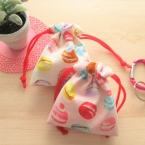 ハギレで簡単!かわいい!!ミニ巾着の作り方