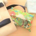 簡単!袋縫いで作る!!コンパクトテッシュケース