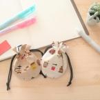 まるくてかわいい!!ミニ巾着の作り方