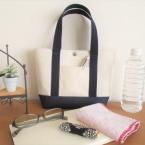 家庭用ミシンで縫える!!小さめの帆布トートバッグ