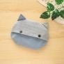 【型紙付き】ねこ型ポケットティッシュケース