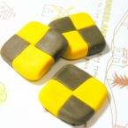 樹脂粘土で2色クッキー