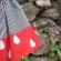 二色ゴムゴムスカート