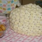 パプコーン編みティーポットコゼ