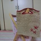 アンダリヤで編むカゴバック(トート)